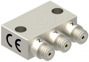 High Temperature Triaxial Accelerometer, Model 3443C